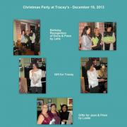 December 19, 2013 - Christmas Party at Tracey's (3)